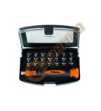 Комплект накрайници с магнитен държач Beta 1256/C21-1 012560