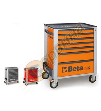 Сервизна количка за инструменти със 7 чекмеджета 2400S-O7/E-