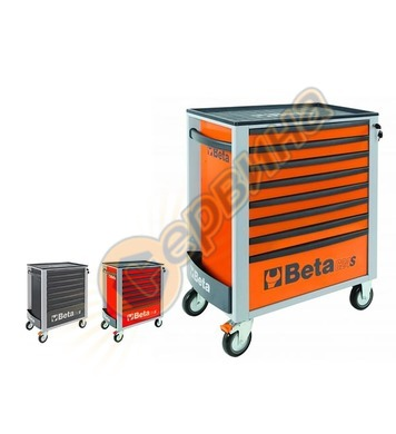 Сервизна количка за инструменти с 8 чекмеджета 2400S-O8/E-XL