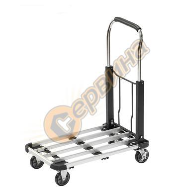 Разтегателна, сгъваема ръчна количка Mannesmann - до 150 кг