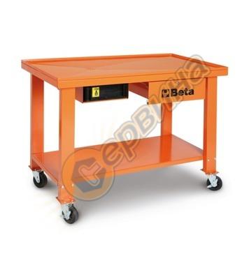 Мобилна работна маса за скоростни кутии със система за отвеж