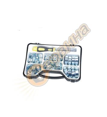 Комплект скоби за маркучи Mannesmann 50 части M60046
