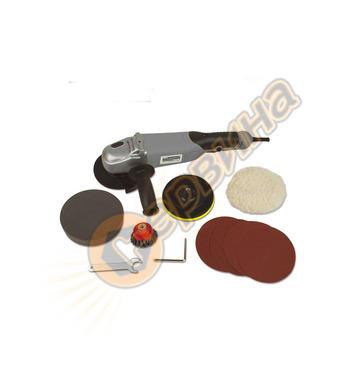 Ъглошлайф с диск за полиране Mannesmann M12185
