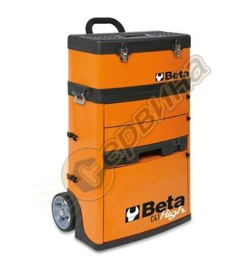 Куфар за инструменти с 2 модула и 3 чекмеджета Beta C41H-O