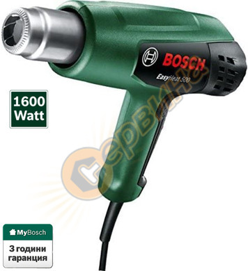 Пистолет за горещ въздух Bosch EasyHeat 500 06032A6020 - 160