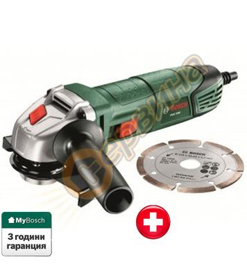 Ъглошлайф Bosch PWS 7000 06033A2022 + Диамантен диск за ряза