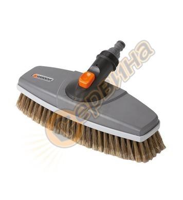 Четка за миене с водна връзка Gardena 05570-20 - 27см