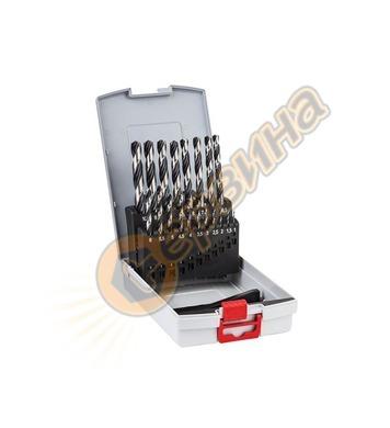 Комплект свредла за метал Bosch PointTeq 2608577351 - 19 час