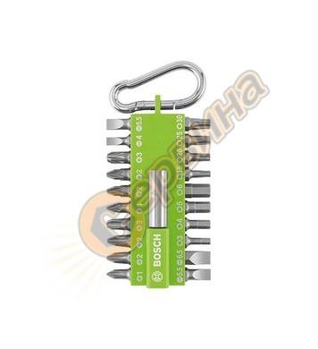 Комплект накрайници с карабинер Bosch 2607002823 - 21 части
