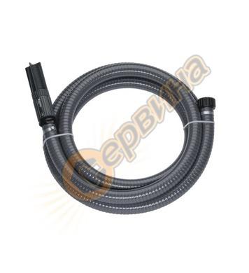 Маркуч смукателен с PVC спирала и накрайници 1