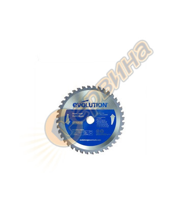 Циркулярен диск Evolution - за мека стомана 185мм, 40 зъба