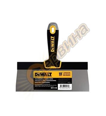 Шпакла ниска с гумирана дръжка DeWalt DXTT-2-136 - 254мм