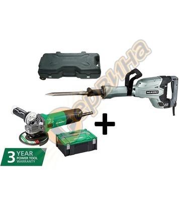 Професионален къртач HiKoki-Hitachi H65SB3 1340W + Акумулато