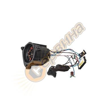 Статор с прекъсвач и електронен блок за ръчен циркуляр DeWal