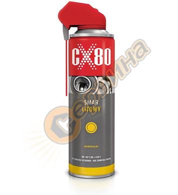 Грес литиева CX80 спрей 500мл CX233