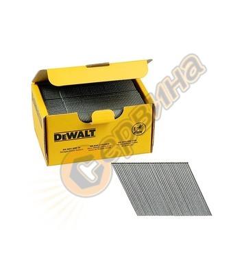 Галванизирани пирони за такер DeWalt DNBA1663GZ - 1.6х63мм 2