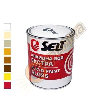 Aлкидна боя Селт ЕКСТРА Бяла - 0,850 кг