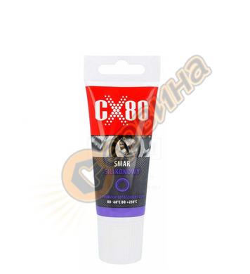 Грес силиконова CX80 40гр за пластмаса и гума CX033 - 2бр