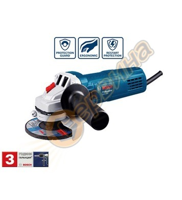 Ъглошлайф Bosch GWS 750-125 Blue force 0601394001 - 125мм