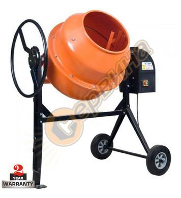 Бетонобъркачка - миксер за бетон Temp THCM400 150л - 850W