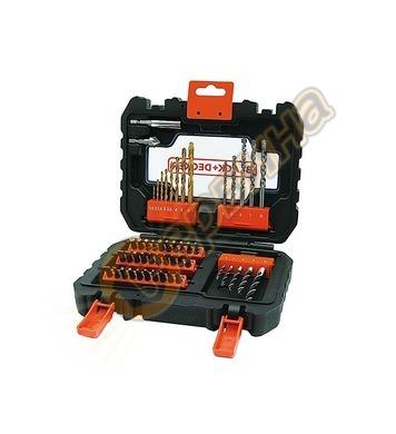 Kомплект накрайници и свредла Black&Decker A7232 - 50бр.