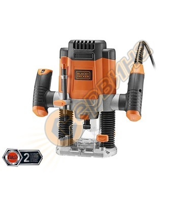 Оберфреза Black&Decker KW1200E - 1200W