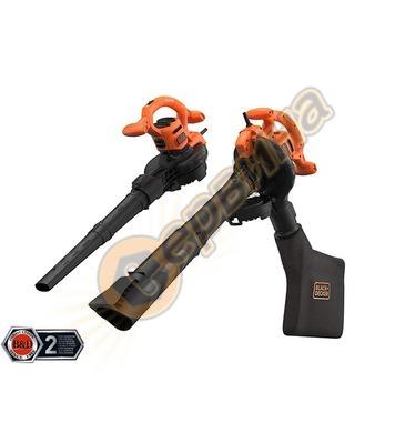 Електрическа метла-листосъбирач Black&Decker BEBLV260-QS - 2