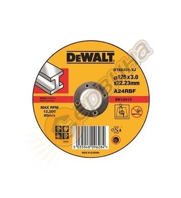Диск за рязане на метал DeWalt DT43911 - 125х22.2мм