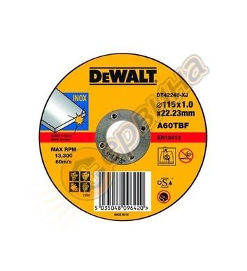 Диск за рязане на метал DeWalt DT43901 - 115х22.2мм