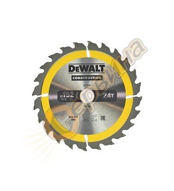 Циркулярен диск за дърво DeWalt DT1930 - 152x20.0мм