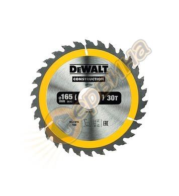 Циркулярен диск за дърво DeWalt DT1937 - 165x30.0мм
