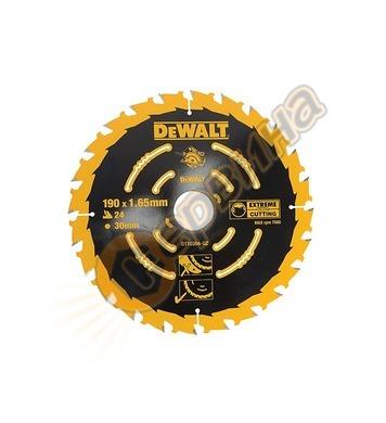 Циркулярен диск за дърво DeWalt DT10304 - 190x30.0мм