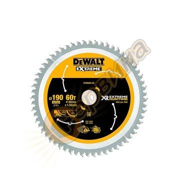 Циркулярен диск за дърво DeWalt DT99564-QZ - 190x30.0мм