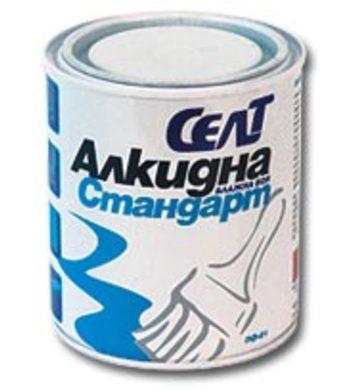 Алкидна боя Селт СТАНДАРТ Зелена - 0,700 кг
