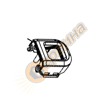 Капак за пистолет за горещ въздух DeWalt N035370 - D26414