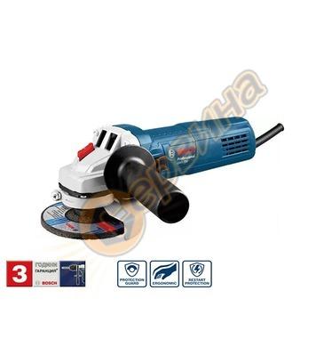 Ъглошлайф Bosch GWS 750-115 0601394000 - 115мм