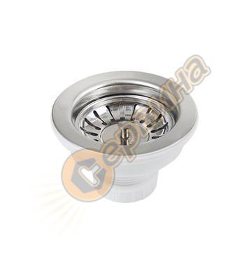 Клапан за кухненски мивки Teka 3½ - без преливник 61001