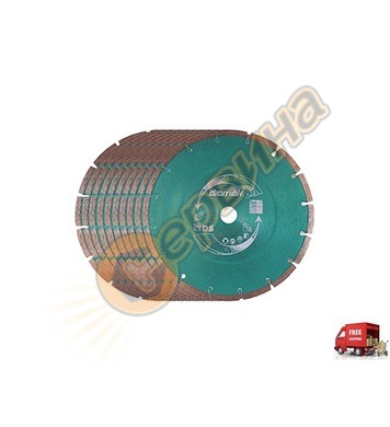 Диамантен диск комплект 10бр Makita D-61145-10 - 230мм