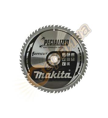 Циркулярен диск за дърво Makita TCT Efficut B-67256 - 305х30