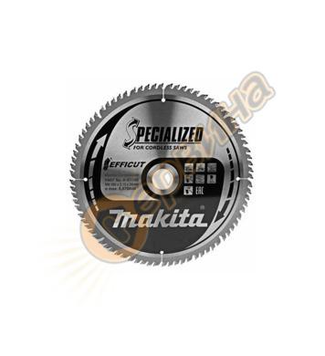 Циркулярен диск за дърво Makita TCT Efficut B-67240 - 260х30