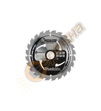 Циркулярен диск за дърво Makita TCT Efficut B-64185 - 190х30