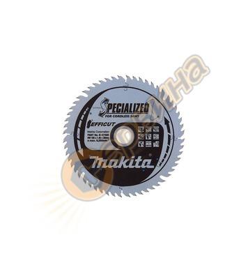 Циркулярен диск Makita TCT Efficut B-57320 - 165х20х56Т