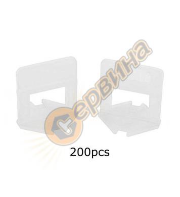 Изравнители за плочки Wert 1.0мм Основа 200бр. W 2749-100