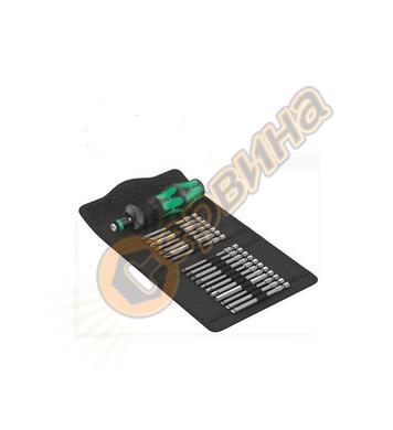 Ръкохватка комплект с битове Wera Kraftform Kompakt Turbo 1