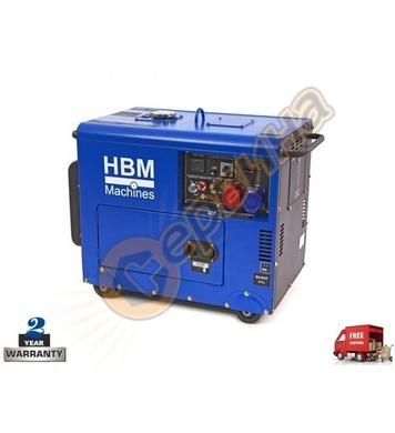 Дизелов обезшумен генератор HBM 7900 50501FH - 7.9KW
