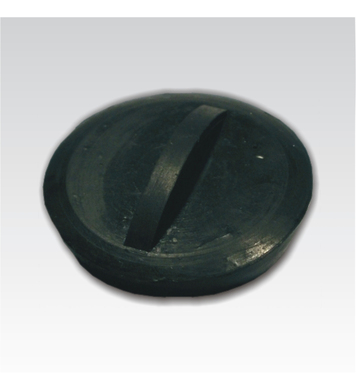 Тапа за сифон черна PVC 40 мм