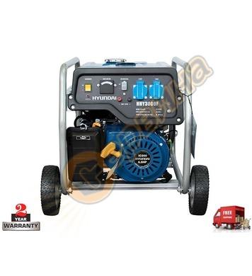 Бензинов генератор HYUNDAI HHY 3000 FK 08047 - 3kW