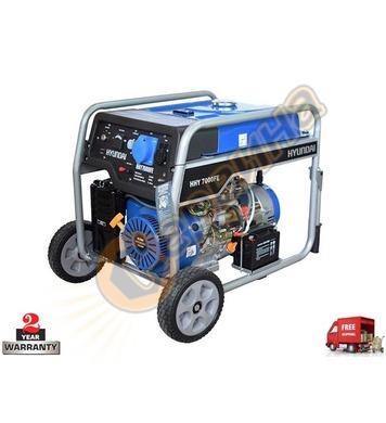Бензинов генератор HYUNDAI HHY 7000 FEK 08048 - 5.5kW