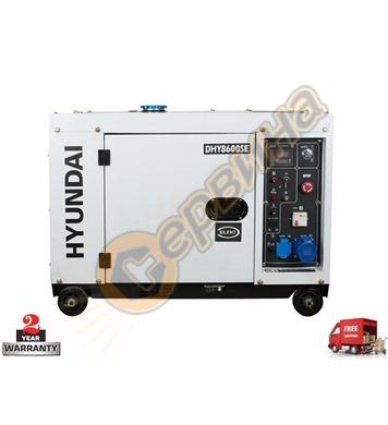 Дизелов генератор HYUNDAI DHY 8600SE 08042 - 6.0KW/6.3kW