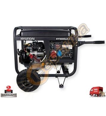 Бензинов трифазен генератор HYUNDAI HY9000LEK-3 08050 - 8.2k